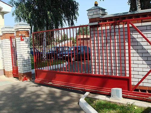 """Ворота в """"Челныводоканал"""""""
